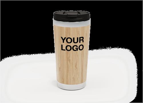 EcoSip - Bamboo Travel Mug Personalized