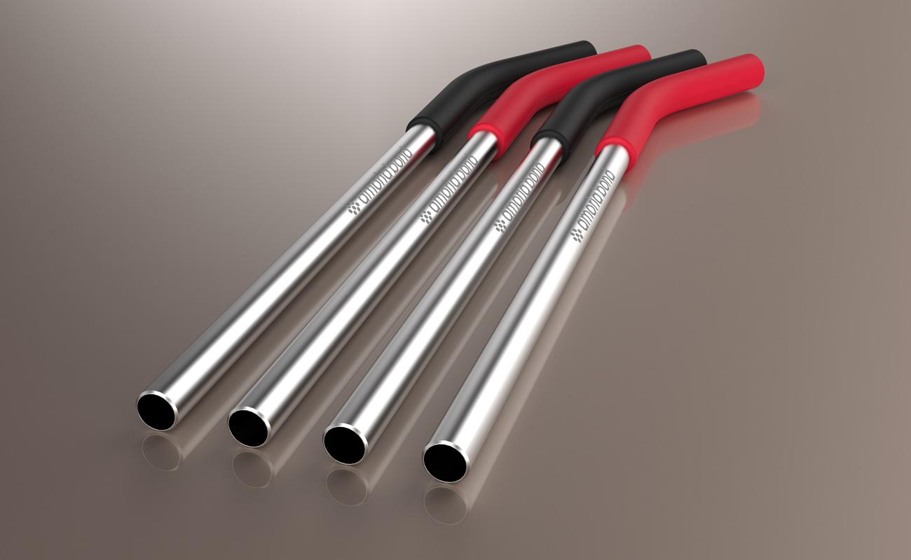 Funky - Personalised Metal Straws